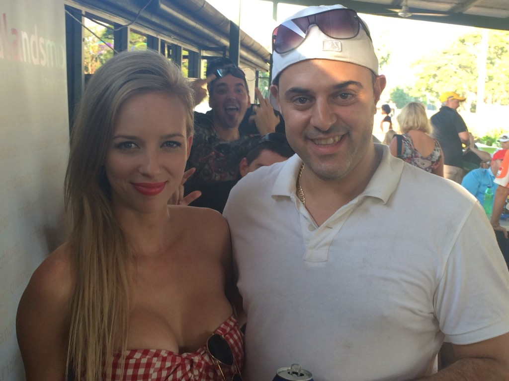 The beautiful Sarah from NT News