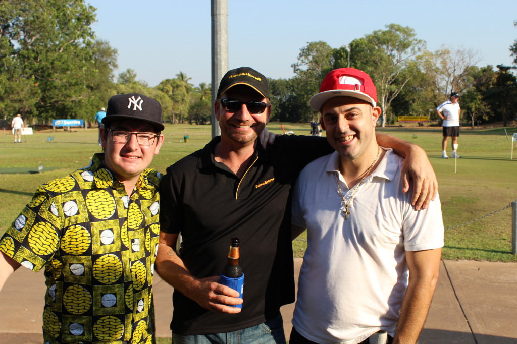 My old crew Cam and Glenn from Raine & Horne Darwin